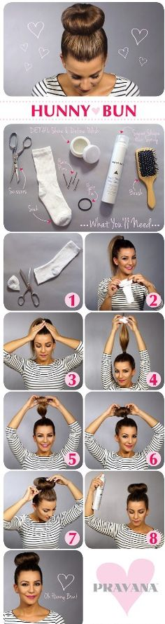 Easy fun way to put up your hair