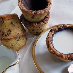 A chi non piace fare merenda con latte e biscotti???Magari in una nuova versione....ancora più golosa!La Cookie Cup!