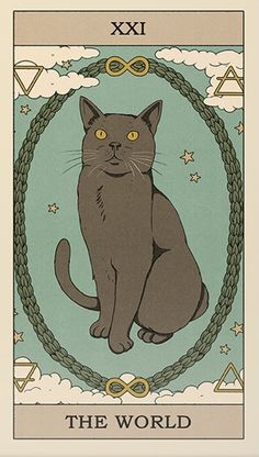 Art Deco Posters, Cat Posters, Poster Prints, Hippie Wallpaper, Dark Wallpaper, Wicca, Tarrot Cards, Wall Collage Decor, Pagan Art