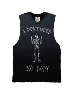 I Don't Need No Body Tank - UNIF Clothing