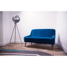 Clement Two Seater Sofa | Johnny Moustache | Vintage And Contemporary  Furniture U0026 Homewares 995 137x84cm