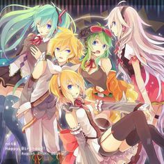 Vocaloid!!I love this  anime!!