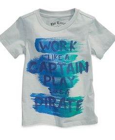 Epic Threads Kids T-Shirt, Little Boys Pirate Tee