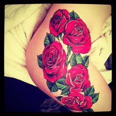 Rose Leg Tattoo Tumblr