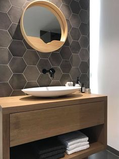 A powder room is a small room in a private dwelling, which enables people to do their make-up activities. Diy Bathroom Decor, Bathroom Design Small, Bathroom Renos, Bathroom Interior Design, Modern Bathroom, White Bathrooms, Luxury Bathrooms, Master Bathrooms, Minimalist Bathroom