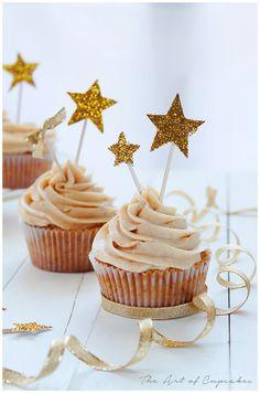 Cupcakes de jengibre