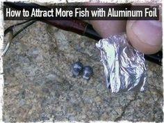 Aluminum Foil Fishing Tip