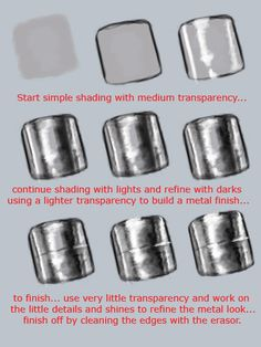 Metal Ring Drawing Tutorial by Sketcher-of-pictures