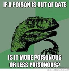 philosoraptor logic on poisons
