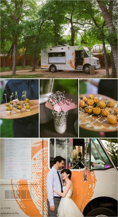 definitely love the idea of having a food truck! cocktail hour food truck
