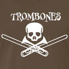Band Camp, Trombone, Shirt Designs, Music, Funny, T Shirt, Fictional Characters, Ideas, Musica
