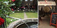 Das Intermezzo – zwischen Dom und Glocke, am Ende des Bibelgartens. Eine Ruheoase inmitten der Bremer Innenstadt.