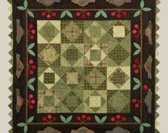 Cherry Pickin' Time, Quilt Pattern by Bonnie Sullivan, All Through the Night Patterns
