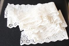 """180"""" ( 5yds) Vintage Cotton Eyelet Trim/Edging L-4 by EBMNewhaven on Etsy"""