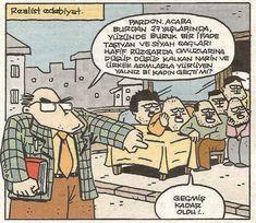 Realist Edebiyat Karikatürü Satire, Funny Photos, Cartoon Characters, Peanuts Comics, Comedy, Jokes, Caricatures, Kara, Classroom
