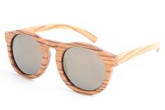 2016 Fashion Round Bamboo Sunglasses Men Wood Sunglass Women Polarized UV400 Oculos De Sol With Logo  LS3002