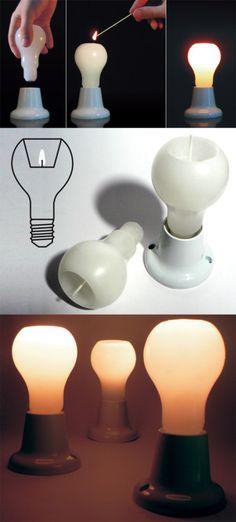 Bulb candle
