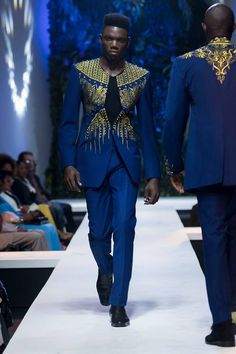 David Tlale & Ciss St-Moise @ The K-Walk Show 2015, Cameroon Yaounde | FashionGHANA.com: 100% African Fashion - Part 2