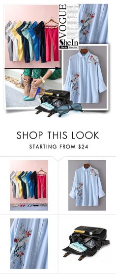 """""""shein"""" by perfex ❤ liked on Polyvore featuring Talbots"""