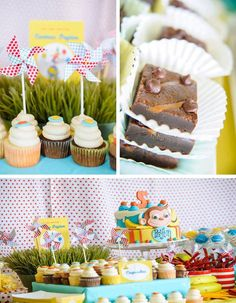 Curious George Pool Party with LOTS of CUTE Ideas via Kara's Party Ideas   Kara'sPartyIdeas.com #CuriousGeorge #Pool #Party #Idea (1)