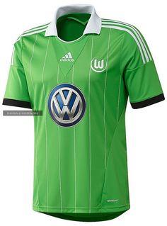 VfL Wolfsburg 2013/14 adidas Away Kit