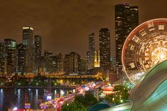 Chicago, Looking Back by Larry White via Flickr.