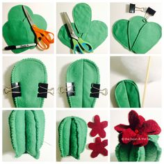 Make a DIY Cactus Pin Cushion as a fun weekend craft project, or as a gift to yo. Make a DIY Cactus Pin Cushion as a fun weekend craft project, or as a gift to your fellow plant lovers! Paper Cactus, Cactus Craft, Cactus Decor, Cactus Cactus, Indoor Cactus, Cactus Types, Sewing Pillows, Diy Pillows, Felt Diy