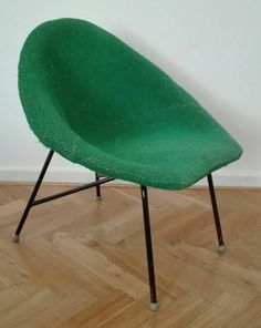 Vintage chair by Miroslav Navratil. 60's by ClockedIt on Etsy