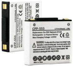 Empire Scientific CPP-553 Gn Netcom Jabra Gn9120 350Mah Li-Pol Battery