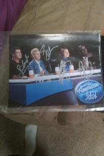 American Idol judges x4 Signed 8x10. http://yardsellr.com/yardsale/Erik-Marx-416944