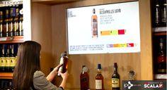 Les magasins Tesco Off License deviennent beaucoup plus interactifs grâce à un large déploiement d'écrans digitaux