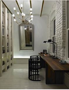 hallways-offices-cream-brick-walls-chairs-chandeliers-desks-mirrors-room-dividers-table