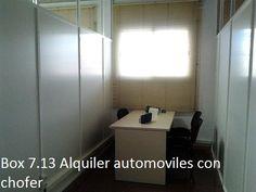 Box 7.13 Alquiler automoviles con chofer