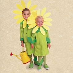"""Sunflower Costume! Thanks for joining @BabyZone's  """"Crazy for Costumes"""" party!"""