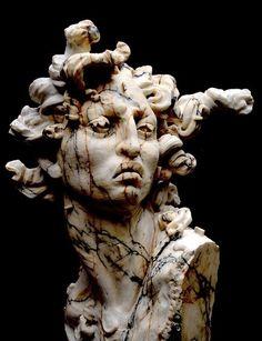 Artist/sculptor Javier MarínMedusa