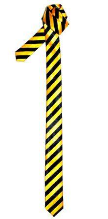 Retreez Skinny Tie - Yellow and Black Stripe: Amazon.co.uk: Clothing £0.99 + £2.53 = £3.52
