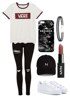 """""""Sin título #79"""" by carlitha-osses on Polyvore featuring moda, Topshop, adidas, Vans, New Black, Mr. Gugu & Miss Go y LULUS"""