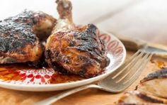 Grilled Spiced Beer Chicken