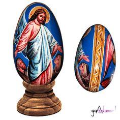 Ou pictat - piesa unicat Bookends, Coasters, Eggs, Home Decor, Decoration Home, Room Decor, Coaster, Egg, Home Interior Design