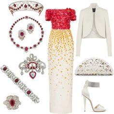 Designer Clothes, Shoes & Bags for Women Royal Princess, Princess Style, Fashion Sets, Royal Fashion, Enchanted Kingdom, Emma Style, Princess Fashion, Mother Birthday, Royal Clothing