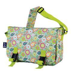Wildkin Spring Bloom Jumpstart Messenger Bag *** For more information, visit image link.