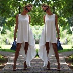 Chiffon Beach Casual Dress