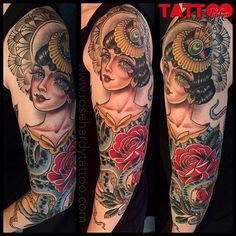 Octo Lady tattoo by Rose Hardy at Kings Avenue in New York City NY – octopus tattoo Fox Tattoo, Tattoo Blog, Tattoo Studio, Head Tattoos, Life Tattoos, Kings Avenue Tattoo, Rose Hardy, Saved Tattoo, Fresh Tattoo