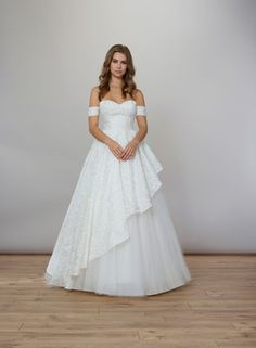 Liancarlo Spring 2020 bridal collection wedding dress ball gown off shoulder straps silk organza Ball Dresses, Ball Gowns, Bridal Gowns, Wedding Gowns, Silk Organza, Chantilly Lace, Perfect Wedding Dress, Bridal Collection, Floral Prints