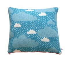 Heal's   Rainy Day Blue Cushion By Donna Wilson - Cushions - Soft Furnishings - Accessories  £60.00