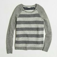 J.Crew Zigzag Sweater More pics to come.  Zigzag sweater. Brand new with tags. Size M J. Crew Sweaters