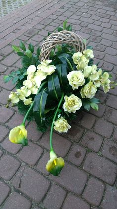 Grave Flowers, Funeral Flowers, Grave Decorations, Flower Decorations, Funeral Arrangements, Flower Arrangements, Funeral Sprays, Casket Sprays, Arte Floral