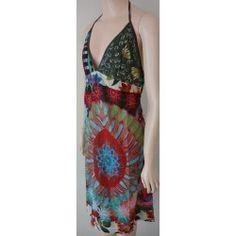 Desigual MALA dámské šaty červené 42