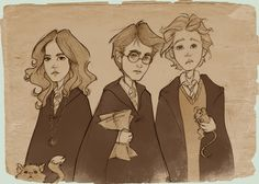 Harry Potter Through the Years by Ninidu: Third Year