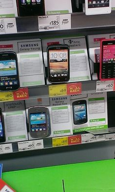 At Asda. HTC, you never let me down!